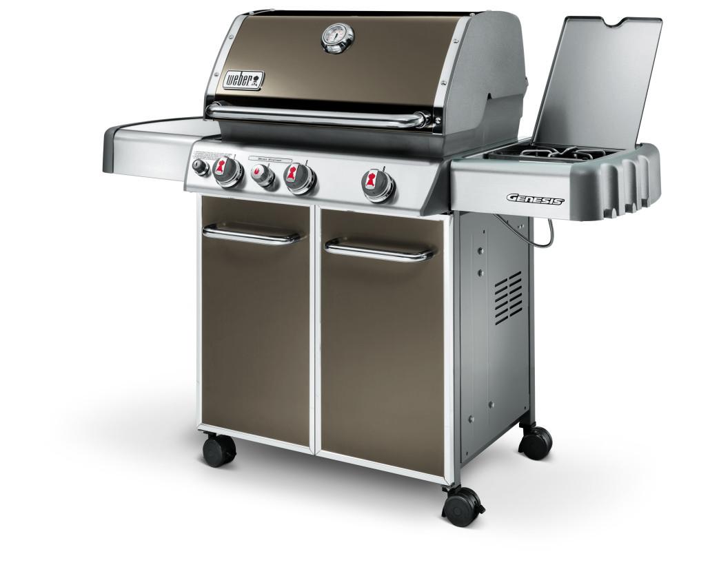 Weber Buitenkeuken Genesis E 330 Steel Grey slechts